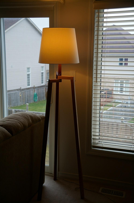 Living Room Lamp Stand Zeno Woodworking